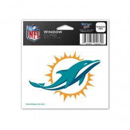 Dolphins Decal  3x4