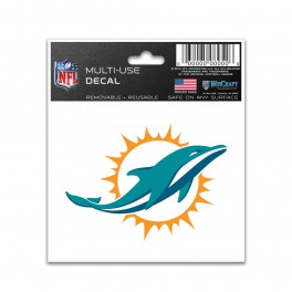 Dolphins  MULTI-USE Decal 3x4