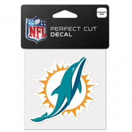 Dolphins Decal 4x4 Perfect Cut